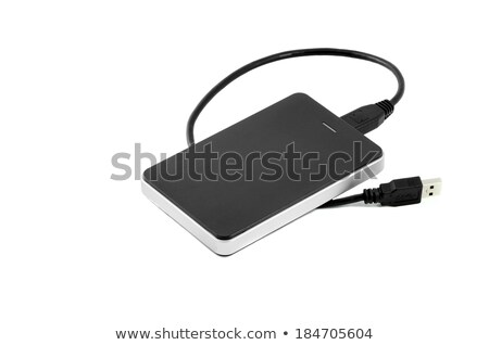 external hard disc usb cable Stock photo © FOKA