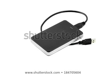 external hard disc usb cable stock photo © foka