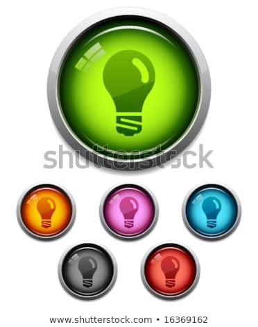 recycle purple vector icon button stock photo © rizwanali3d