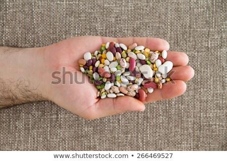 黑色 · 眼 · 豌豆 · 關閉 · 飲食 · 宏 - 商業照片 © ozgur