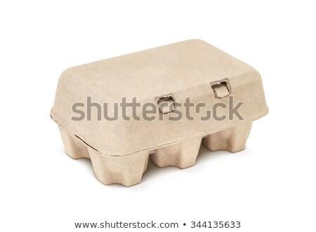 papel · acondicionamento · reciclado · branco · padrão · recipiente - foto stock © dezign56