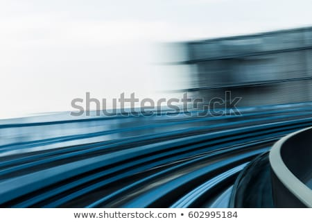 Podziemnych pociągu streszczenie metra Zdjęcia stock © stevanovicigor