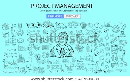 Nieuwe vaardigheden schoolbord wazig studie Stockfoto © tashatuvango