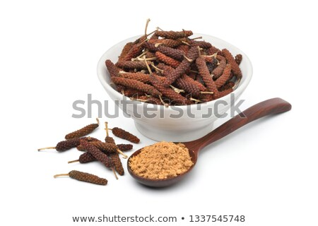 Pile of Organic Long pepper. Stock photo © ziprashantzi