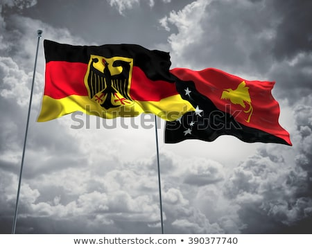 Germany and Papua New Guinea Flags  Stock photo © Istanbul2009
