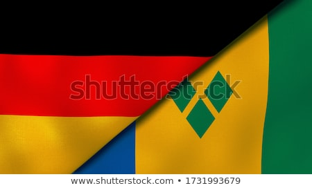 Germany and Saint Vincent and the Grenadines Stock photo © Istanbul2009