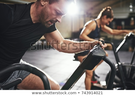 за спортзал человека стороны спорт тело Сток-фото © Paha_L