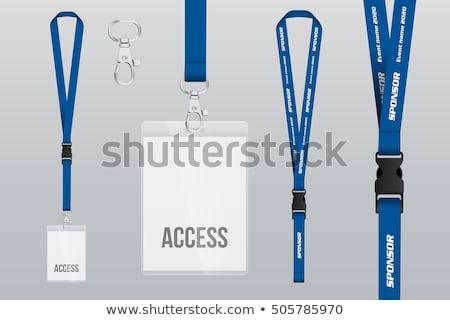 Blank badge mock up Stock photo © pakete