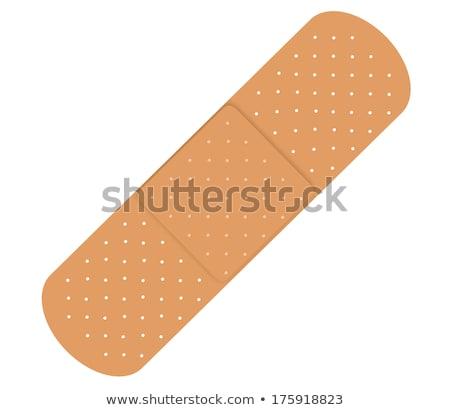 bandaids isolated on white background Stock photo © shutswis