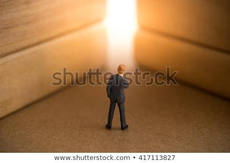 jobs · zakenvrouw · baan · vrouw · teken - stockfoto © lightsource