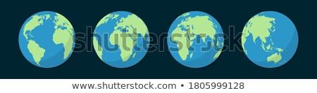 Europe Russie Afrique mondial monde cartes Photo stock © fenton