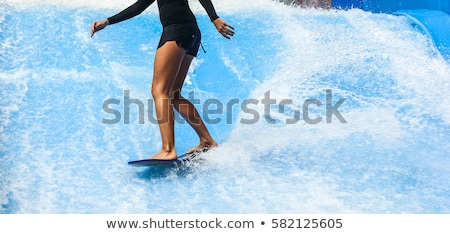 indoor surfing Stock photo © compuinfoto