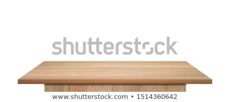 Work on wooden table Stock photo © fuzzbones0