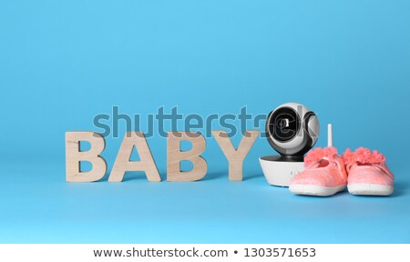Kid shoes and word security Stock photo © fuzzbones0