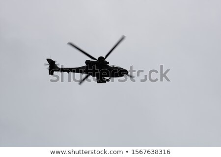 A helicopter flying Stock photo © bluering