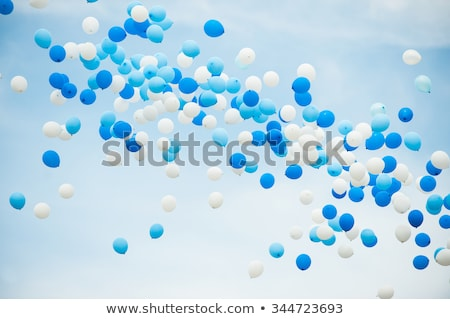 Two balloons flying in the sky Stock photo © bluering