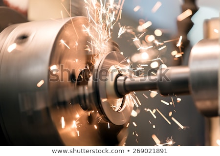 Lathe grinder machine Stock photo © jordanrusev