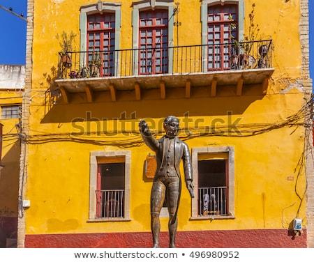 статуя Мексика место атаковать мексиканских войны Сток-фото © billperry