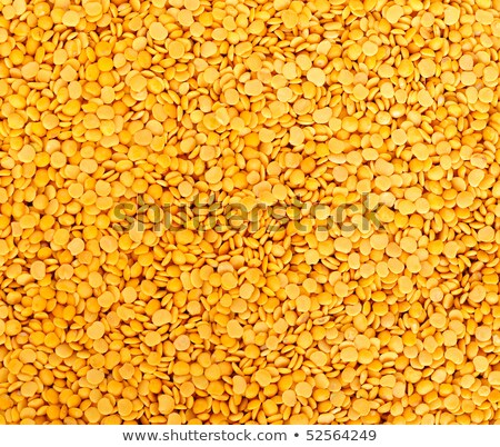 Toor dal, famous Indian legume also called yellow Pigeon peas Stock photo © kayros