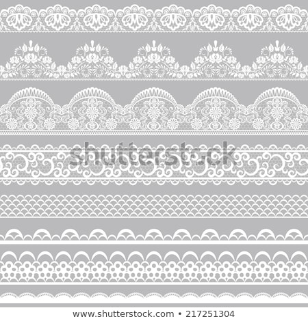 lace on white Stock photo © blackmoon979