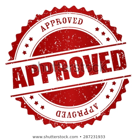 Accepted rubber stamp Stock photo © IMaster