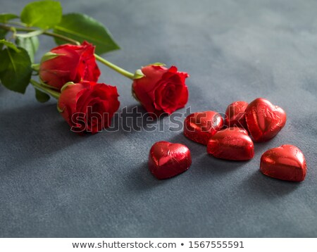 花束 赤いバラ バレンタインデー 花 結婚式 ストックフォト © janssenkruseproducti