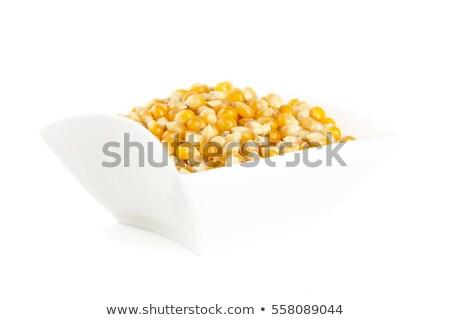 полный сушат сырой кукурузы белый продовольствие Сток-фото © dla4