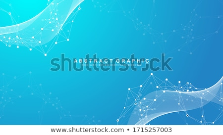 Abstract digitale deeltjes wireframe technologie Stockfoto © SArts
