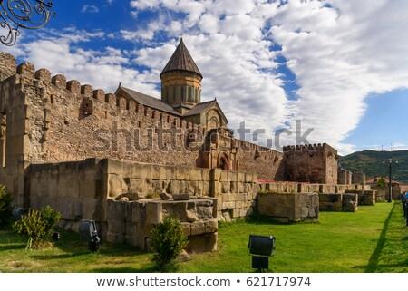 cathédrale · Géorgie · orientale · orthodoxe · historique · ville - photo stock © joyr