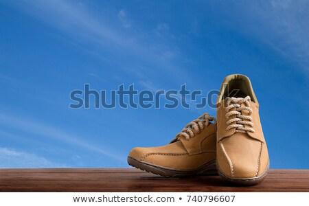 кожа · обувь · ярко · небе · бизнеса · дизайна - Сток-фото © rufous