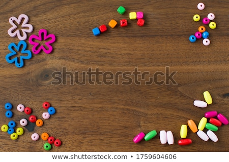 Round beads in different design Stock photo © bluering