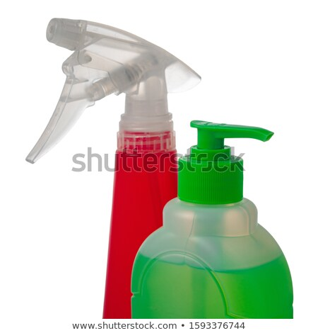 Sprayer isolated on white background. Cleaner accessories Stock photo © MaryValery