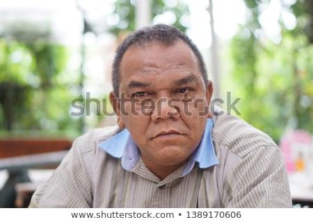 headshot of mature man stock photo © filipw