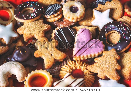 assorted cookie and spices Stock photo © M-studio
