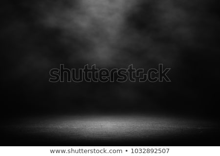old grunge black wall, spot lighting Stock photo © ivo_13