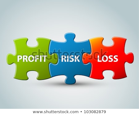 nyereség · veszteség · illusztráció · nyilak · grafikon · üzlet - stock fotó © orson