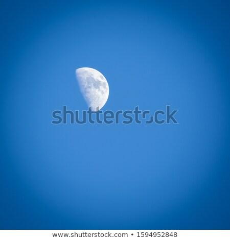 Ontharing maan vierkante afbeelding licht zee Stockfoto © suerob