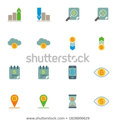 digitale · valuta · moderne · ontwerp · vector · communie - stockfoto © decorwithme