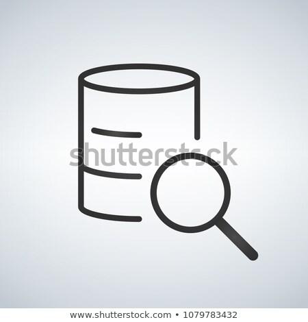 liniowy · bazy · danych · serwera · odizolowany · internetowych · komórkowych - zdjęcia stock © kyryloff