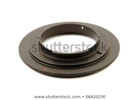 макроса кольца dslr камеры белый металл Сток-фото © nemalo