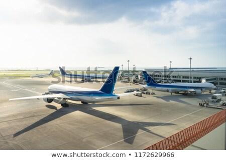 Avaitaion Terminal window view Stock photo © alexaldo