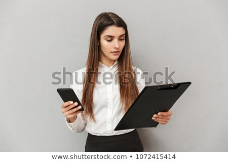 写真 オフィス 女性 20歳代 白 シャツ ストックフォト © deandrobot