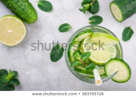 drinken · ijs · foto · partij · groep · cool - stockfoto © peteer