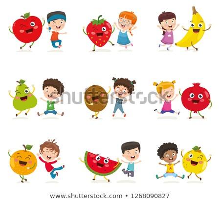 新鮮果物 実例 健康的な食事 創造 メニュー 栄養 ストックフォト © cienpies