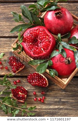 fresh ripe pomegranate stock photo © yuliyagontar