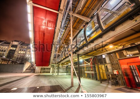 Tér Párizs városkép Montmartre Franciaország építkezés Stock fotó © neirfy