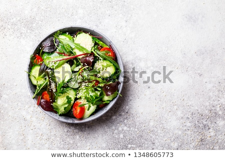 Romaine lettuce salad Stock photo © karandaev