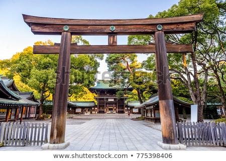 Santuario Tokio Japón templo ciudad viaje Foto stock © daboost