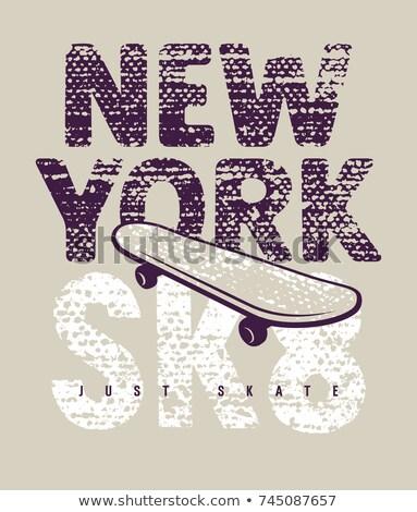 Grungy Skateboarder Stock photo © ArenaCreative
