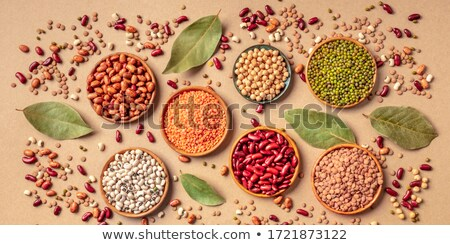 variety of dried legumes and grains stock photo © barbaraneveu